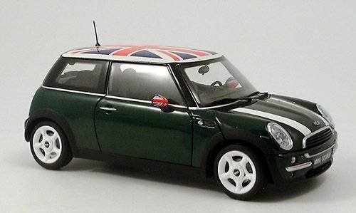 BMW New Mini Cooper, dkl.-grün,