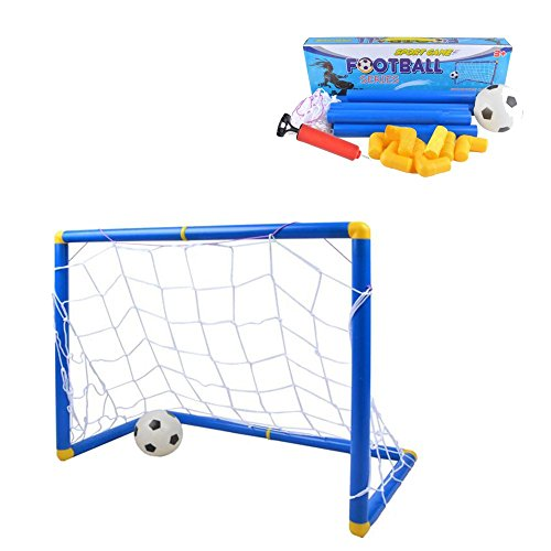 Kidcia-Soccer-Goals-Set-with-Inflatable-Soccer-Ball-and-Air-Bump-for-Kids-Backyard-Soccer-Gate-Toy-Football-Training-Set-Small