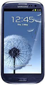 Samsung Galaxy SIII UK SIM-Free Smartphone - Pebble Blue (16GB) - Discontinued by manufacturer