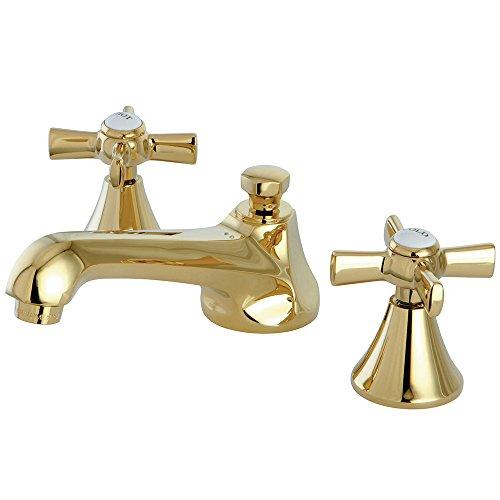 Delta KLDCA-4-2597H295-RB Cassidy Lavatory Faucet Kit with Metal Cross Handles Venetian Bronze Venetian Bronze