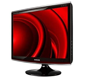 Samsung T220 55,9 cm (22 Zoll) Wide Screen TFT-Monitor rose black DVI (Kontrast 20.000:1, 2 Ms Reaktionszeit)