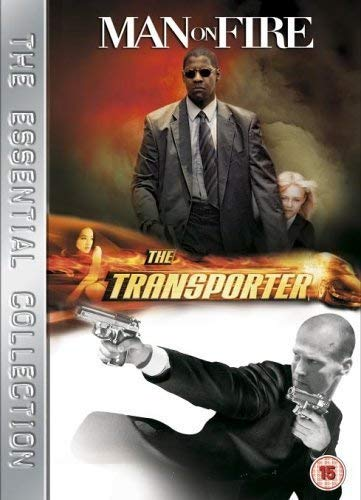 DVD : Man on Fire/ Transporter (Side By Side Packaging, Sensormatic, 2 Disc)