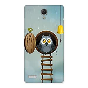 Gorgeous Raining Leader Owl Back Case Cover for Redmi Note