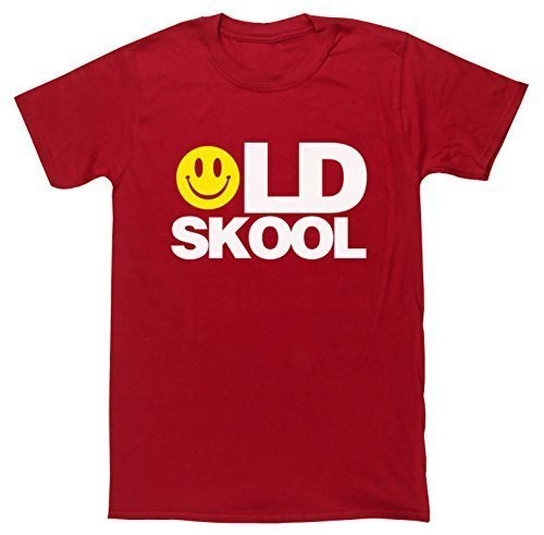 Unisex Old Skool T-shirt - 7 Colours - S to XXL