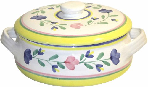 Caleca Girasole Covered Casserole Dish