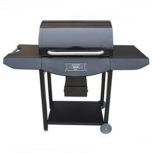 Smoke-N-Hot Black Powder Coated Pellet Grill Pro