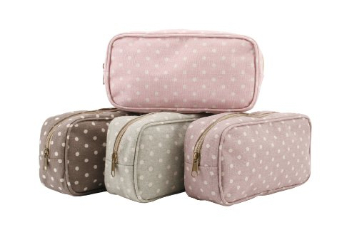 polka-dot-coffee-bean-sage-candy-pink-mulberry-print-canvas-wash-bag-height-13cm-sage