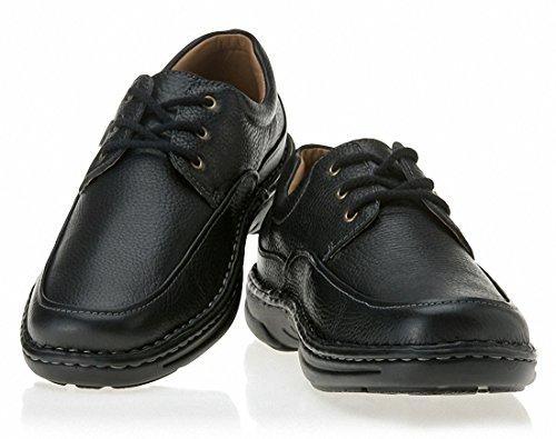 (ホーキンス) HAWKINS 男性靴 リラックス コンフォート RELAX COMFORT HL18301 (並行輸入品) GooodLux (25.0cm, 1.BLACK)
