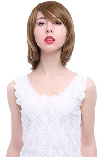 Details for 15colors short Bobs women fashion party Full synthetic hair wigs by Lemail cosplay