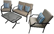 Hot Sale Strathwood Brentwood 4-Piece All-Weather Furniture Set