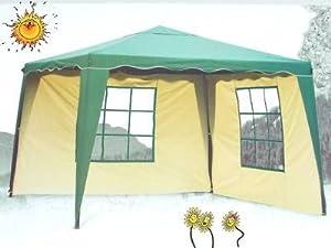 pavillon everyday gr n 3x3m mit 2x seitenwand. Black Bedroom Furniture Sets. Home Design Ideas