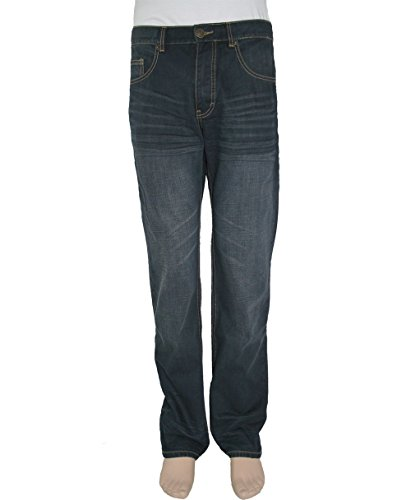 Paddock's Jeans Carter, blue black vintage stone used, W44-L36
