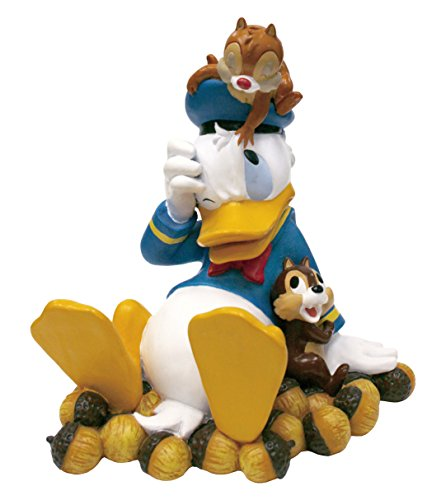 Design International Group LDG89278 Garden Statue, 9 by 6-Inch, Donald with Chip and Dale 2014