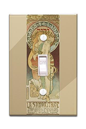 la-samaritaine-vintage-poster-artist-mucha-alphonse-france-c-1897-light-switchplate-cover
