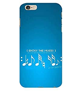 Vizagbeats Enjoy the Music Back Case Cover for Apple Iphone 6
