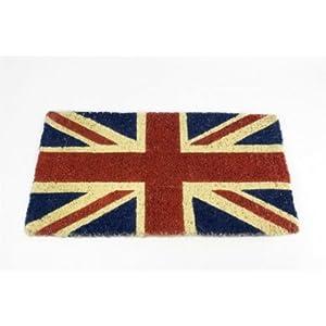 Paillasson avec le drapeau anglais deco londres - Paillasson en anglais ...