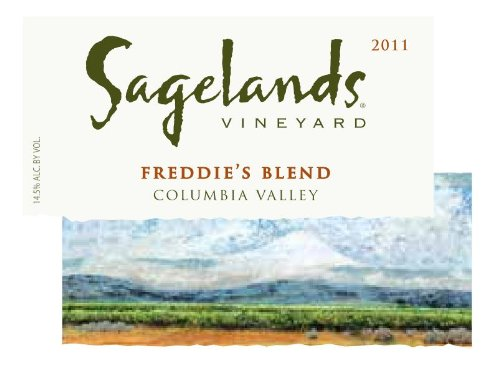 2011 Sagelands Freddie'S Blend Red 750 Ml