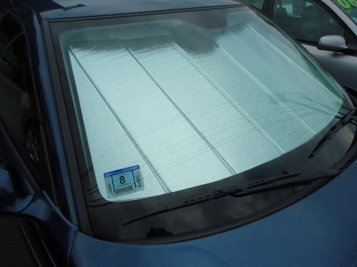 2002-2003 BMW X5 IS Folding Style Sun Shade