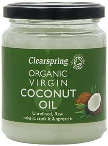Clearspring Organic Virgin Coconut Oil 200 g