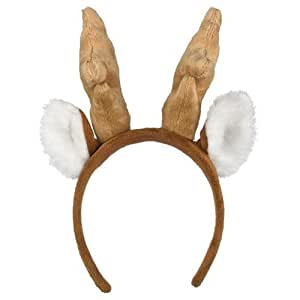 Wildlife Artists Whitetailed Deer Headband Plush Whitetailed Deer Stuffed Costume Head Band Unisex Hair Accessory
