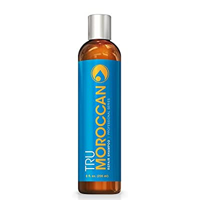 Best Natural Shampoo - This Moroccan Argan Oil Shampoo Is The Best Moisturizing Shampoo For Dry Hair - Guaranteed To Instantly Give Your Hair Silky, Shiny, Body - Sells Out Fast! from Tru Moroccan
