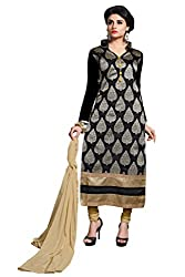 Parinaaz Fashion Chandhari Unstitched Salwar suit