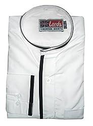 Lords Wear Men's Formal Shirt (LordsWear_White _36)