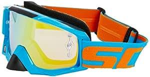 Scott Tyrant Goggles - Electric Blue/Orange Chrome Works