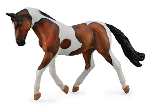 Collect A Horses Pinto Bay Mare Toy Figure