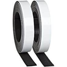 3M Dual Lock Reclosable Fastener TB3541/TB3542, 400/170 Black, 1 in x 10 ft (1 Mated Strip/Bag)
