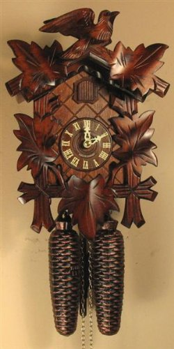Sternreiter U2013 German Hand Carved Cuckoo Clock With Eight Day Movement