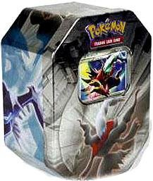 Pokemon Platinum Legendary Collection 2009 Collector Tin Set Darkrai with Darkrai LV.X Card (Pokemon Platinum Legendary compare prices)