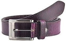 Midas Men's Belt (CLB541_32 , Purple)
