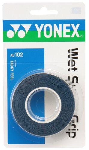 Yonex (YONEX) wet Super grip (3 pieces) deep blue AC102 566