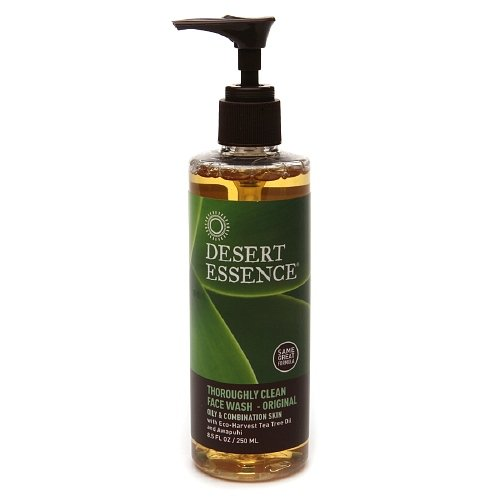 Desert Essence Thoroughly Clean Face Wash With Organic Tea Tree Oil And Awapuhi 8.5 Fl Oz (251 Ml)