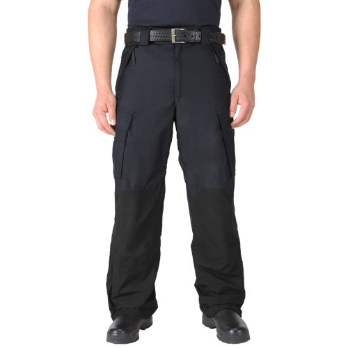 5.11 Waterproof Patrol Rain Pants Tactical Mens Work Cargo Trousers Dark Navy