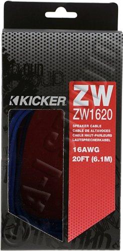 Kicker Z-Series 09Zw1620 20-Feet 16-Gauge Speaker Wire