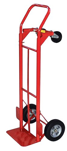 Milwaukee Hand Trucks 35080 Convertible Truck With 8-Inch Puncture Proof Tires front-140230