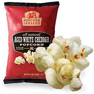 popcorn indiana gourmet age white cheddar
