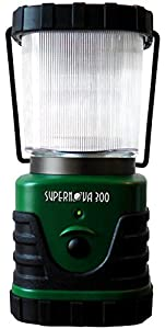 Supernova 300 Lumens Ultra Bright LED Lantern - The Best LED Lantern for Camping, Hiking or Any Type of Emergency - Battery Powered and Long Lasting Lanterns LED from Intervine