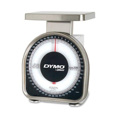 DYMO Heavy-Duty Mechanical Package Scale, 50-pound (Y50)