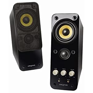 Creative GigaWorks T20 Series II 2.0 Multimedia Speaker System with BasXPort Technology $65.99