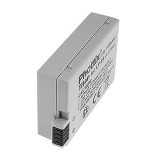 Delamax/Phottix - Batería para EOS 550D, 600D, 650D, 700D (equivalente a Canon LP-E8)