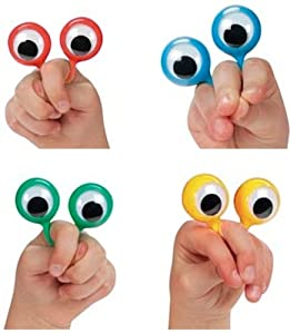 4 Googly Eye Finger Puppets (set of 4)