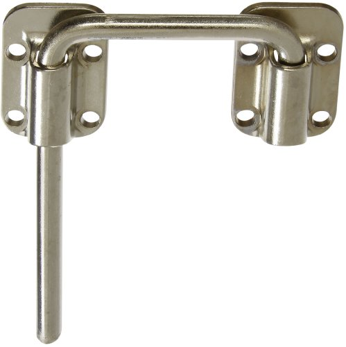"National Hardware V800 2-1/2"" Sliding Door Latch In Nickel front-350168"