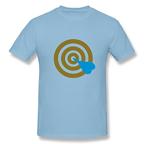 100% Cotton Collage Darts Tees For Men - Round Neck front-722798