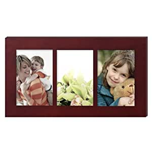 adeco 3 opening white silver collage photo picture frames three 4x6 inch adeco 3. Black Bedroom Furniture Sets. Home Design Ideas