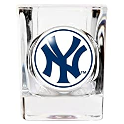 New York Yankees Square Shot Glass - 2 oz.