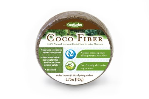 Coco GardenccF105 105-Gram Compressed Coco Fiber Growing Medium picture