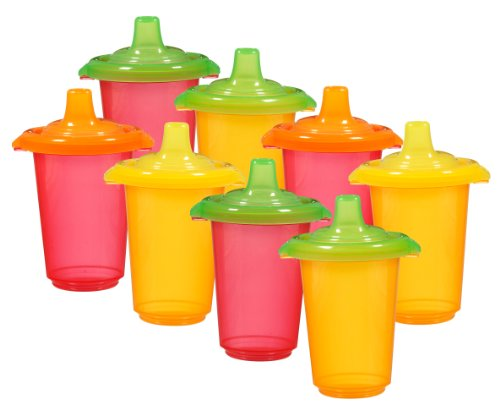 Munchkin Click Lock Re-Usable Sippy Cups, 10 Ounce, 8-Count front-498991
